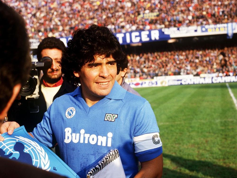 Hipster Corner - Maradona's Napoli