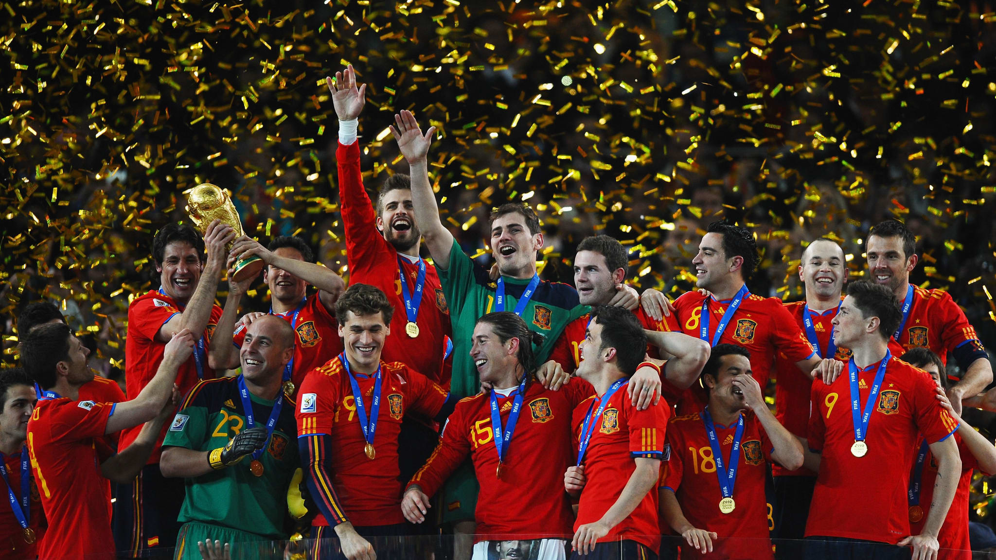 2010 FIFA World Cup™ - News - Spain's 2010 conquerors in numbers - FIFA.com