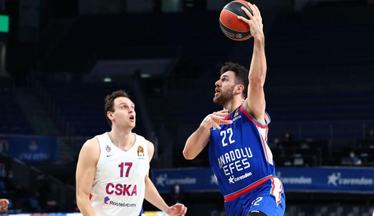 ÖZET | Anadolu Efes-CSKA Moskova maç sonucu: 100-70 - Euroleague Haberleri - Basketbol